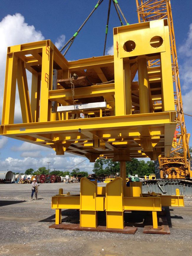 Suction Pile Fabrication Oil Field Mexico